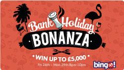 bingo 90 bank holiday bonanza