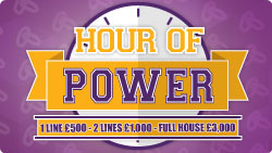 Bingo 90 Hour of Power
